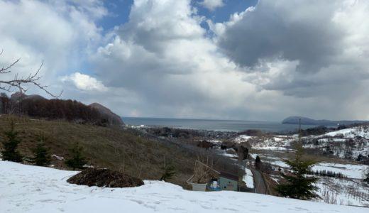 これこそ北海道の季節の変わり目、余市の砂川果樹園!ついにあの人も始動